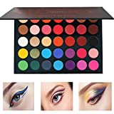 Beauty Glazed Pressed Powder 35 Colors Shimmer Matte Eyeshadow Palette Color Studio Eye Makeup High Pigment Natural Colors Makeup Palette Eye Shadow