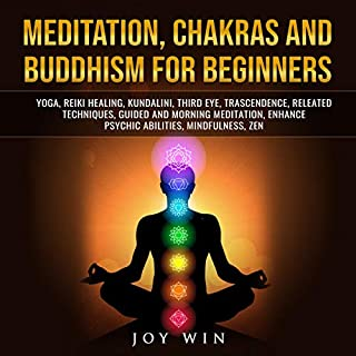 Meditation, Chakras and Buddhism for Beginners cover art