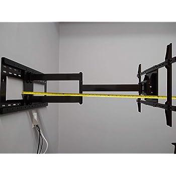 Soporte de brazo articulado de 36 pulgadas de largo para Samsung LG Sony LED TV de 32 pulgadas a 65 pulgadas: Amazon.es: Electrónica