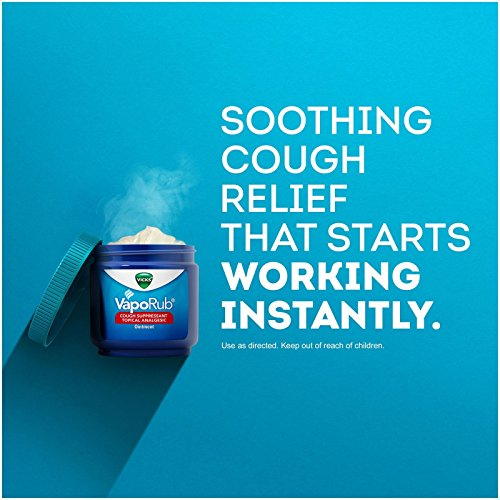 Vicks VapoRub Topical Cough Suppressant Ointment - 1.76 oz