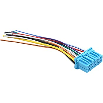 Amazon.com: uxcell DC 12V Car Male DVD Radio Wire Harness Adapter Cable  Connector for Honda: AutomotiveAmazon.com