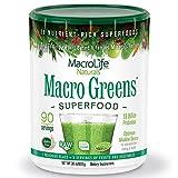 MacroLife Naturals Macro Greens Powder - 38 Superfood...