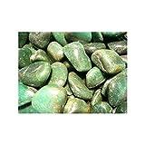 Rodados de Cuarzo Verde (Pack de 250 gr) 4x3 cm Minerales y Cristales, Belleza energética, Meditacion, Amuletos Espirituales