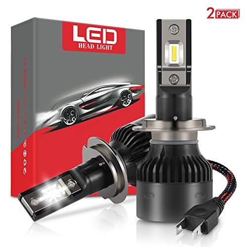 XCSOURCE Bombilla H7 LED Coche, 2 pcs 60W 12000LM Bombillas LED para...