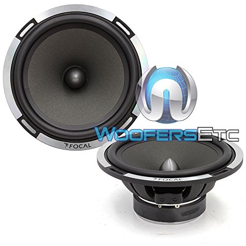 Find Discount Pair of Focal 6PS-2 Ohm 6.5 Polyglass 75 Watts RMS Midrange Speakers from PS-165V Com...