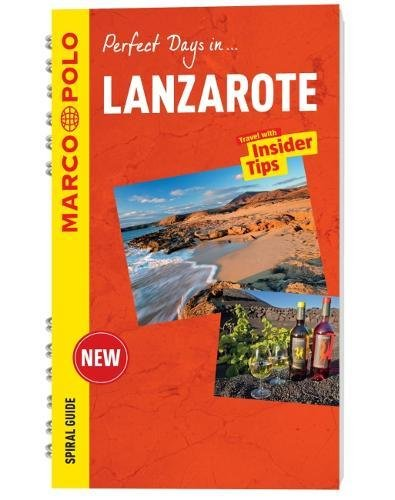 Lanzarote Marco Polo Travel Guide - with pull out map (Marco Polo Spiral Travel Guides) [Idioma Inglés]