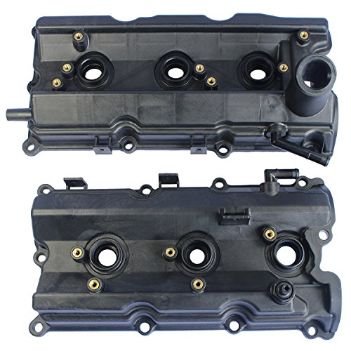 JDMSPEED New Left & Right Engine Valve Covers Replacement For 350Z 2003-06 G35 V6 3.5L