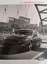 2017 Ford Fusion Owner's Manual Guide Book