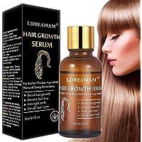Tratamiento para el Cabello,Crecimiento del Cabello,Tratamiento Cabello,Aceite para Crecimiento del Cabello,Hair Serum,Estimula el Crecimiento Cabello para Hombres y Mujeres