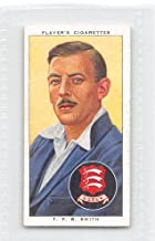 Tom Smith 1938 Player Cigarettes Cricketers #26 (EX)