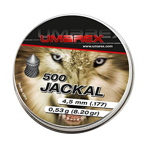 Umarex Premium Jackal Spitzkopf Diabolo 4,5mm Luftgewehrkugeln für Luftdruckwaffen, Luftgewehr und Luftpistole
