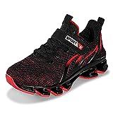 Zapatillas deportivas ligeras y transpirables para niños, color Rojo, talla 33 EU