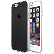 iPhone 6 Case, Maxboost [Liquid Skin Pro] Shock-Absorbing Bumper and Florescent Back Panel Protective iPhone Case Slim Hard Cover -Stylish Retail Packaging- Slim Bumper Cases for iPhone 6 (4.7 inch)