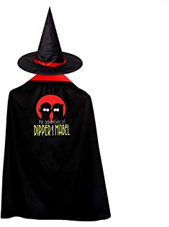 Gravity Falls The Adventures of Dipper and Mabel Adult Halloween Costumes Cape Cloak Knight Witches Vampires Cosplay