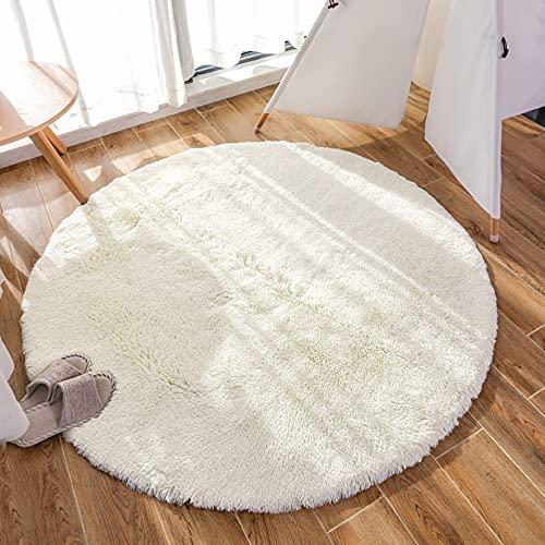 Alfombras Redondas 120 Lana alfombras redondas  Marca GaoTuo