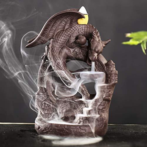wolf cone incense burner - 9