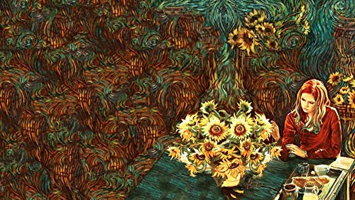 Lv5Panel Klassische Puzzles-Holz Puzzle 1000 Teile des Für Erwachsene Blumenbote Lernspielzeug-Verschmutzungsfreies Spiel Der Kinder ,Geburtstagsgeschenke