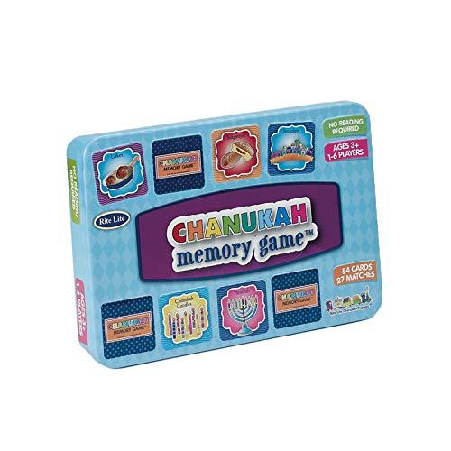 Rite Lite Chanukah Memory Game Hanukkah - Educational, Fun Hanukkah Game For Both Kids and Adults Alike Chanukah Gift
