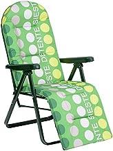 Alco M283229 relaxstoel 5-voudig staal groen gestreept 787vor-0036
