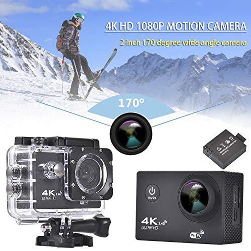 Fiaoen Sportkamera 1080P HD 4K 170 Grad Weitwinkel wasserdicht benchmark