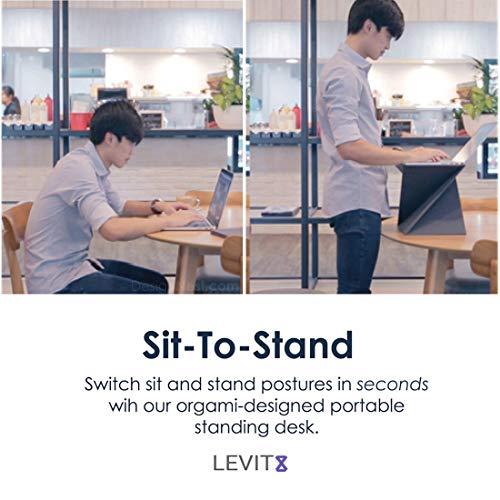 Levit8スタンディング用折り畳みデスク(S)