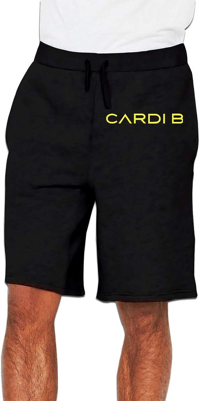 Zinmmerm Men's Casual CardiBSign Sweat Shorts