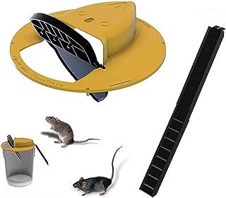 MASTWINK Piège à Souris,Piège à Rat de Souris de Couvercle de Seau Flip N Slide,Mouse Rat Trap Réinitialisation Automatiqu...