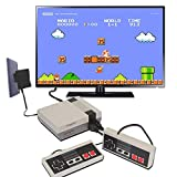 Retro Game Console, Mini Game Console Childhood Game Consoles Built-in 620 Game(Some are Repeated) Dual Control 4-Bit Handheld Game Player Console for TV Video Bring Happy Childhood Memories