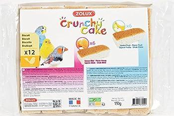 Zolux Biscuits Assortis Oiseaux Crunchy Cake Miel Fruits Vendu par 12