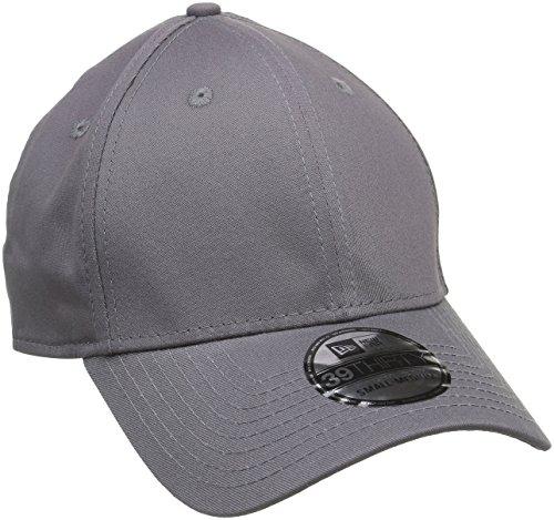 New Era Baseball Cap Mütze 39Thirty Stretch Back - Gorra para hombre, color gris (graphite), talla L/XL