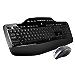 Logitech MK710-RB Desktop Wireless Keyboard/Mouse Combo, Wireless Mouse USB, Black (Renewed)