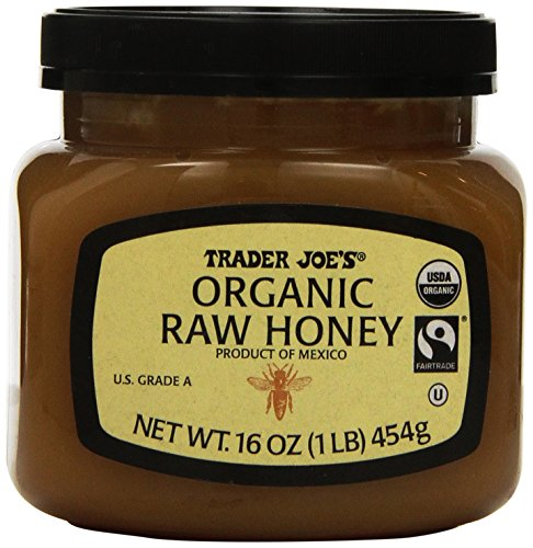 Trader Joe's Organic Raw Honey 16 Ounce
