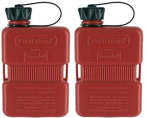 FuelFriend-Plus - Bidón 1.0 litro - 2 Piezas a un Precio Especial