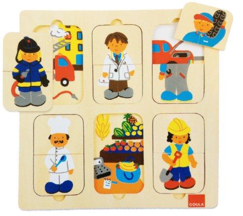 Goula - 53070 - Puzzles Métiers