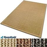 casa pura® Sisal Teppich aus Naturfasern mit Bordüre aus Baumwolle   pflegeleicht   Größe wählbar (Natur, 200 x 290 cm) - 7