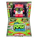 Really R.A.D. Robots - Mibro Dino - Interactive R/C Robot | 50+ Sounds and Actions | Remote Control Robot, Walkie Talkie, Jokes, and Pranks (27846)