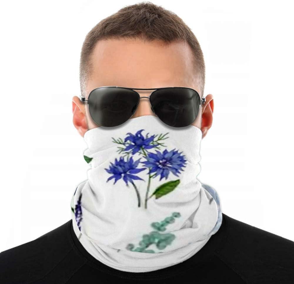 Headbands For Men Women Neck Gaiter, Face Mask, Headband, Scarf Bundle Detailed Drawings Beautiful Floristic Flowers Turban Multi Scarf Double Sided Print Headband Women For Sport Outdoor