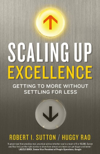 Scaling up Excellence (English Edition)