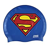 Zoggs Gorro de natación, Juventud Unisex, Superman, 6-14 años