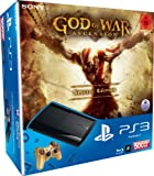PlayStation 3 - Konsole Super Slim 500 GB (inkl. DualShock 3 Wireless Controller + God of War Ascension Special Edition)