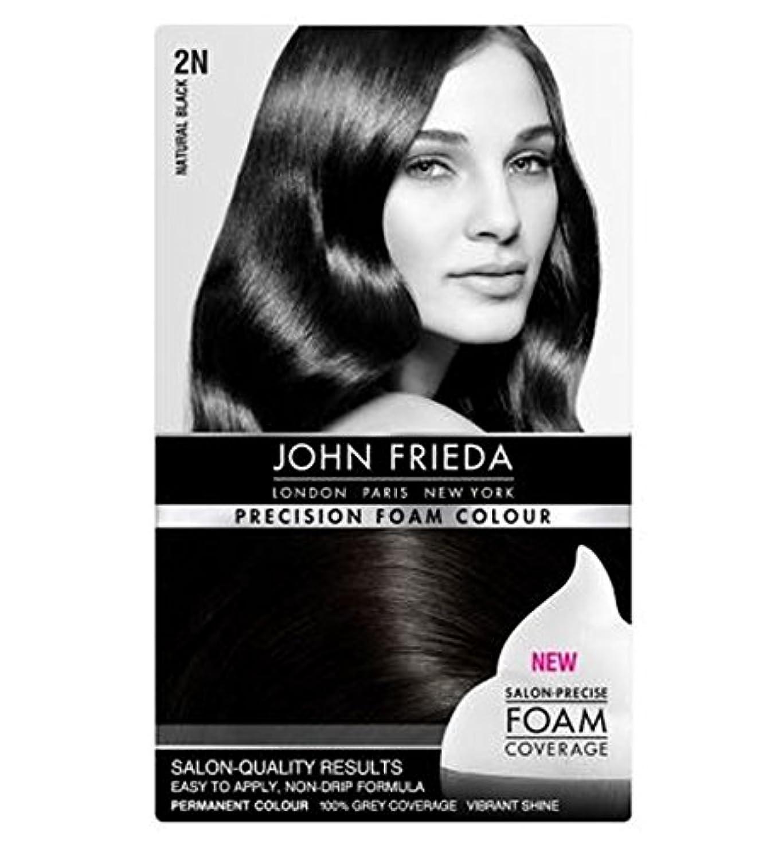 ベギンハリケーン口径John Frieda Precision Foam Colour Luminous Natural Black 2N - ジョン?フリーダ精密泡の色の発光自然な黒2N個 (John Frieda) [並行輸入品]