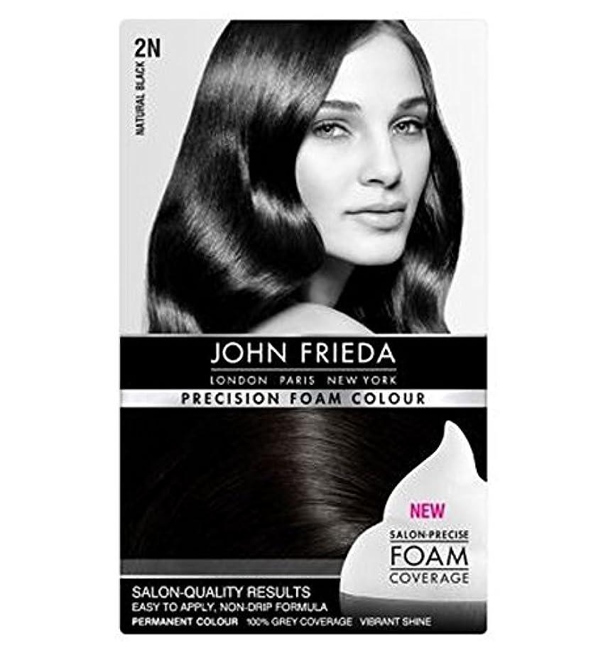 フラフープ実際繰り返すJohn Frieda Precision Foam Colour Luminous Natural Black 2N - ジョン?フリーダ精密泡の色の発光自然な黒2N個 (John Frieda) [並行輸入品]