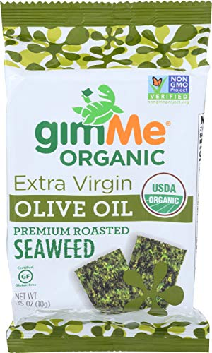 Gimme, Seaweed Roasted Extra Virgin Olive Oil Organic, 0.35 Ounce