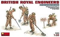 ミニアート 1/35 イギリス軍地雷除去工兵セット MA35083 プラモデル