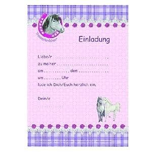 Postales Invitacion cumpleaños Amigo de los Caballos. Serie ...