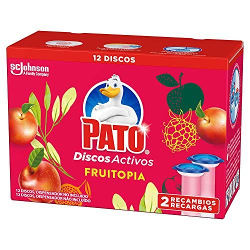 Pato Pato - Discos Activos Wc Recambio Fruitopia, 2