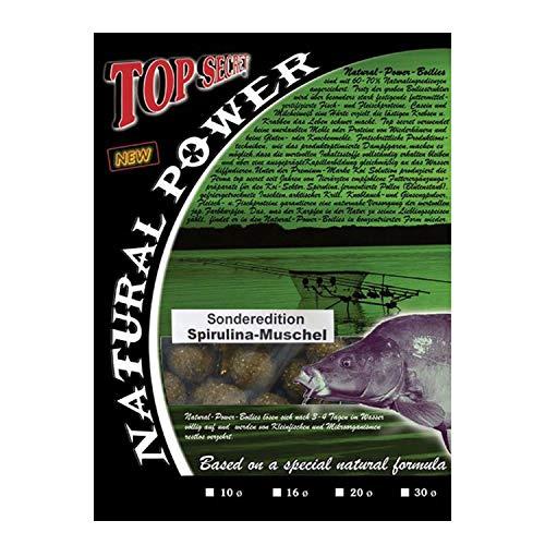 Top SecretNatural Power Boilies Sonderedition 20mm Spirulina/Muschel