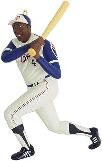 Hallmark MLB アトランタ・ブレーブス ハンク・アーロン クリスマスオーナメント - [並行輸入品]...
