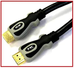 PTC Premium Gold Series HDMI 1.3 Dual Tone Certified Cable -6ft 3 packs