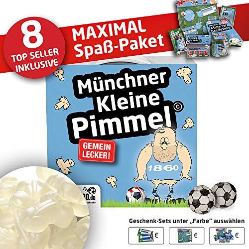 1860 Trainingshose ist jetzt KLEINE PIMMEL Set 2: MAXIMAL-Spass-Paket by Ligakakao.de hellblau-weiß Herren Macron Jogging lauf-Hose Trainingsanzug